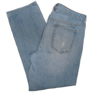 Jennifer Lopez Boyfriend Jeans Sz 12 Light Wash